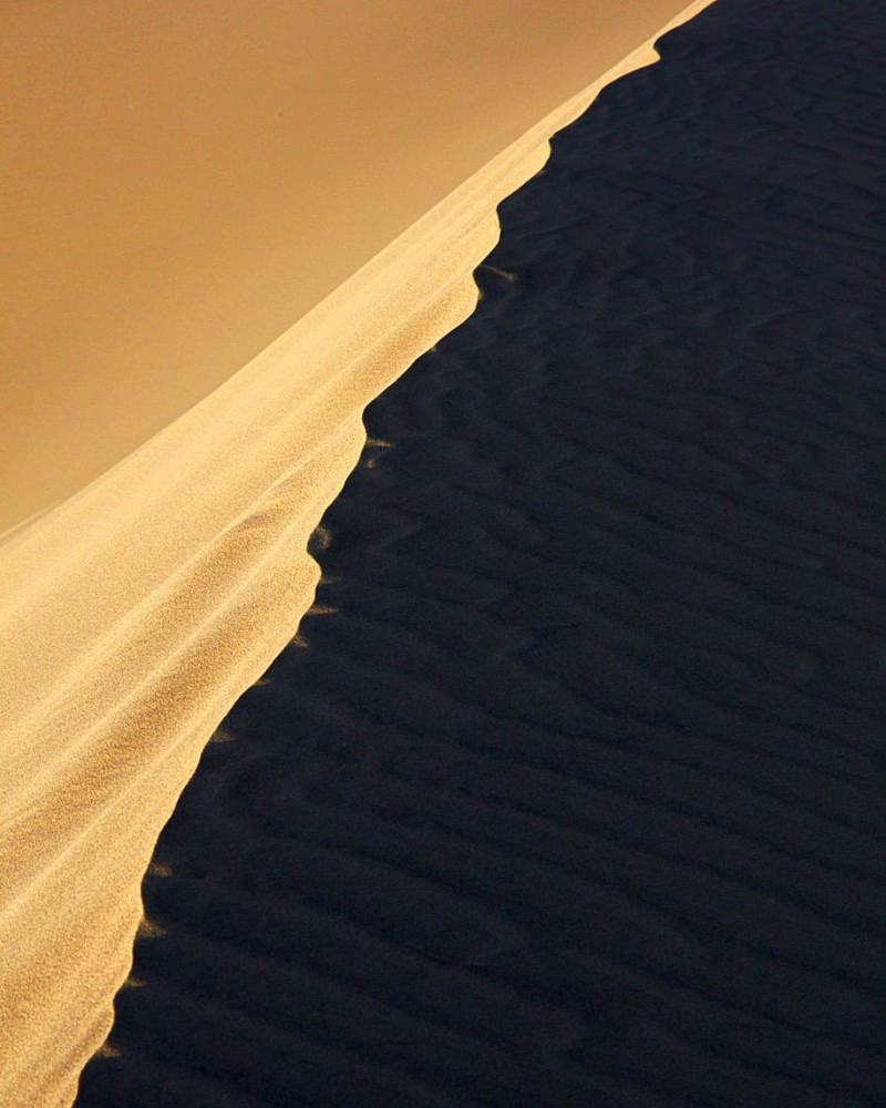 A dune in the desert